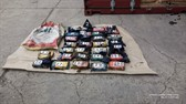 Customs officers have discovered 33 kg of cocaine in the Port of Bar