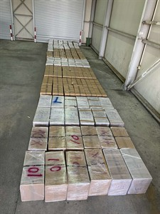 Joint press release of the Customs Administration and the Police Administration: about 2 tons of marijuana were seized